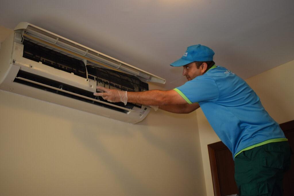 AC installation Dubai
